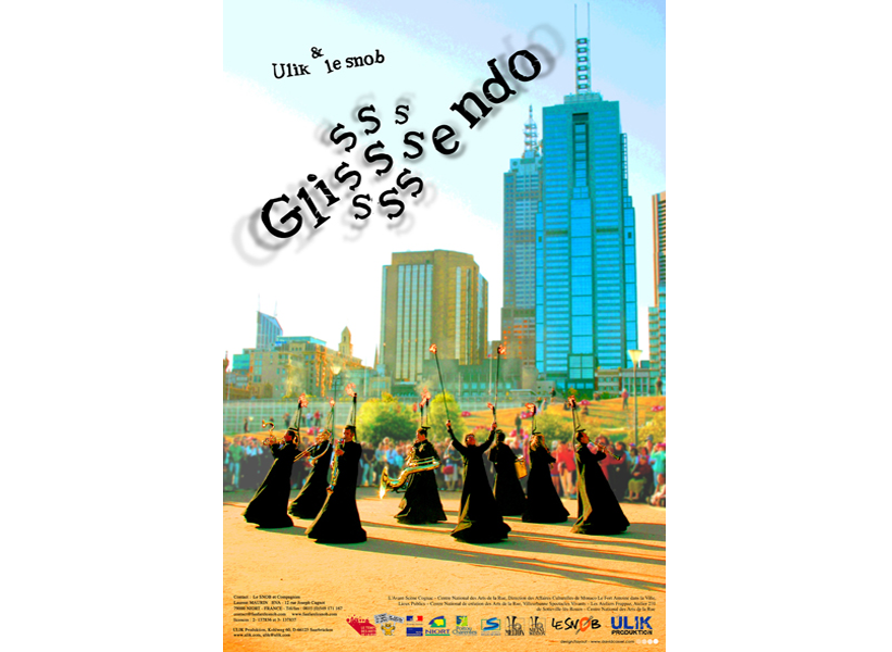 Poster for Glisssssendo, International Touring Orchestra from France