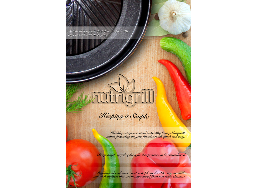 Nutri Grill Promotional Flyer