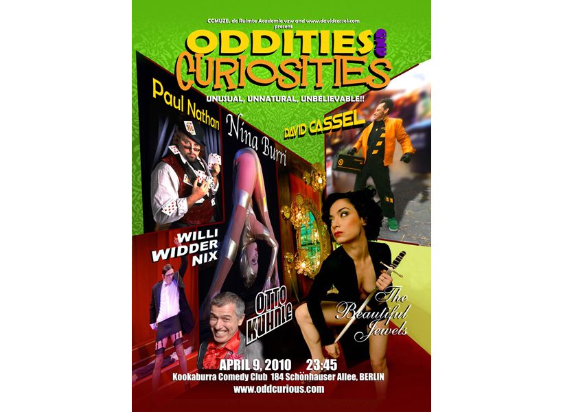 Poster for Oddities and Curiosities